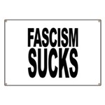 Fascism Sucks Banner