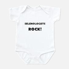 Selenologists ROCK Infant Bodysuit