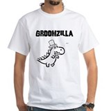 Doomed groom Mens White T-shirts