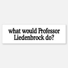 Professor Liedenbrock Bumper Bumper Bumper Sticker