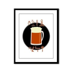 Bring Egyptian Beer Framed Panel Print
