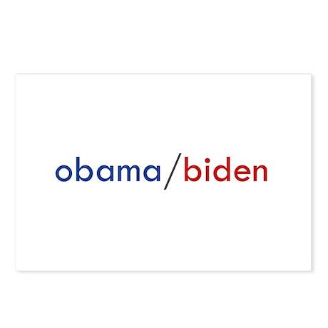 OBAMA / BIDEN Postcards (Package of 8)