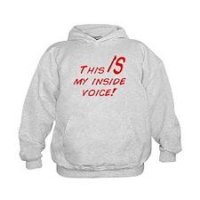 Inside Voice Hoodie