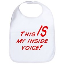 Inside Voice Bib