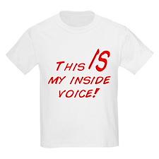 Inside Voice T-Shirt