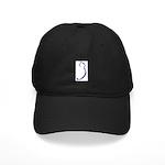 Cat Silhouette Black Cap