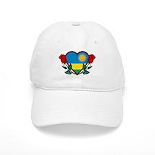 Heart Rwanda Baseball Cap