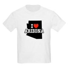 I Love Arizona Kids T-Shirt