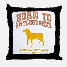 Entlebucher Sennenhund Throw Pillow