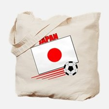 Japan Soccer Team Tote Bag