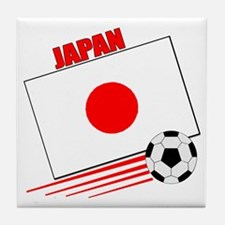 Japan Soccer Team Tile Coaster