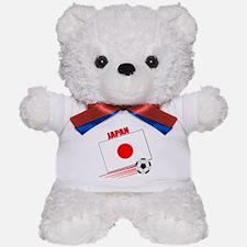 Japan Soccer Team Teddy Bear