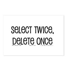 select twice Postcards (Package of 8)