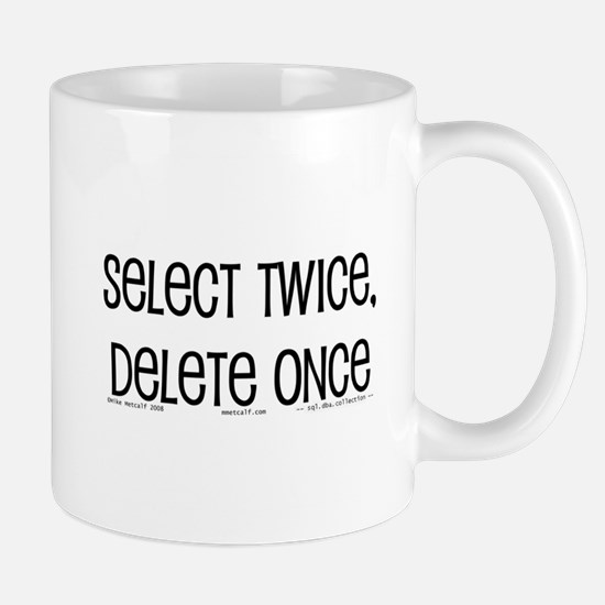 select twice Mug
