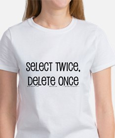select twice Women's T-Shirt