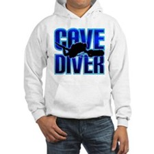 Cave Diver Text Hoodie