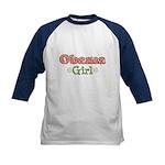 Obama Girl Obama Kids Baseball Jersey