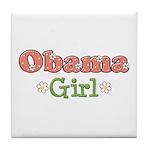 Obama Girl Obama Tile Coaster