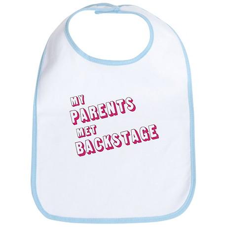 MY PARENTS MET BACKSTAGE (PIN Bib