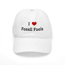 I Love Fossil Fuels Baseball Cap