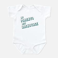 MY PARENTS MET BACKSTAGE Infant Bodysuit