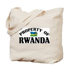 Property Of Rwanda Tote Bag
