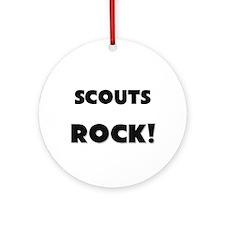 Scouts ROCK Ornament (Round)