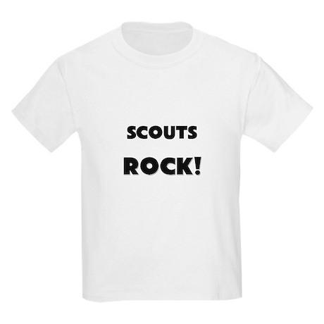 Scouts ROCK Kids Light T-Shirt