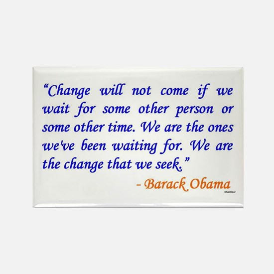 Obama Quote Magnet