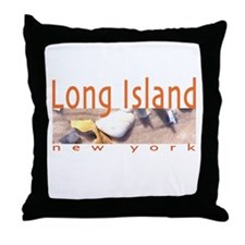 Long Island Throw Pillow