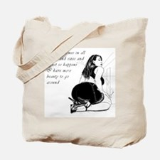 Beauty in all sizes Tote Bag