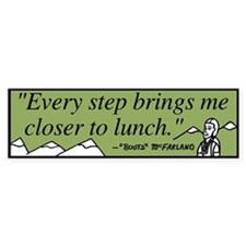 Lunch Bumper Bumper Sticker