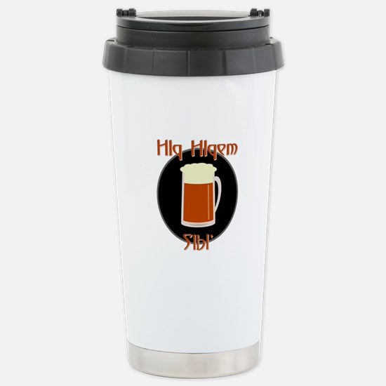 Bring Klingon Beer Stainless Steel Travel Mug