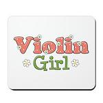 Violin Girl Violin Mousepad