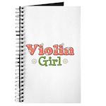 Violin Girl Violin Journal