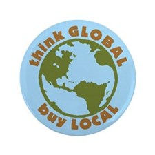 """think GLOBAL 3.5"""" Button"""