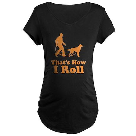 Gordon Setter Maternity Dark T-Shirt
