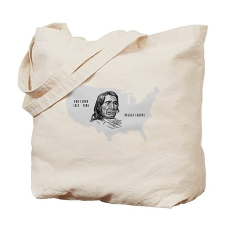 Red Cloud Tote Bag