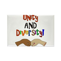 Democratic Vote-Unity AND Diversity Rectangle Magn