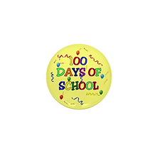 100 Days Of School Mini Button