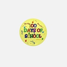 100 Days Of School Mini Button