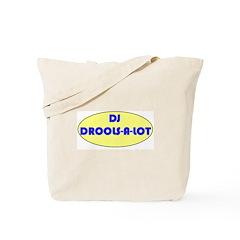DJ DROOLS-A-LOT Tote Bag