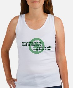 Recycling Women's Tank Top