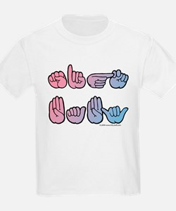 PinkBlue SIGN BABY SQ T-Shirt