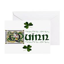 Quinn Celtic Dragon Greeting Cards (Pk of 10)