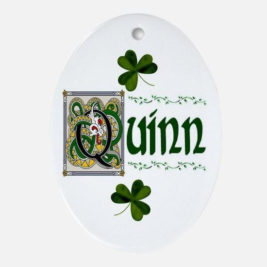 Quinn Celtic Dragon Ornament