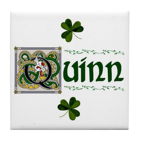 Quinn Celtic Dragon Ceramic Tile