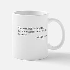 Thankful For laughter Mug