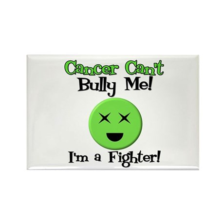 Cancer Can't Bully Me Rectangle Magnet