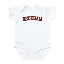 BECKHAM Design Infant Bodysuit